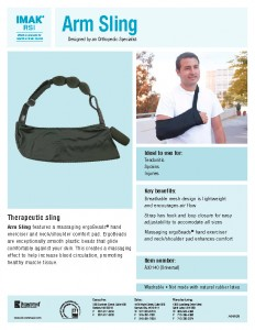 comfortable arm sling